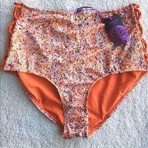 d6f521f6aa8 Modcloth Swim   Nwt High Waist Bathing Suit Bottom Sz L   Poshmark
